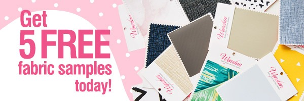 Get 5 FREE fabric samples today!