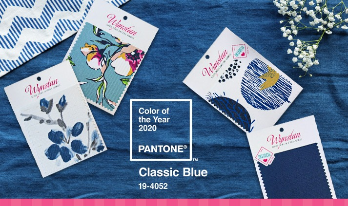 2020 Pantone Colour of the Year – Classic Blue – perfect for your window treatment