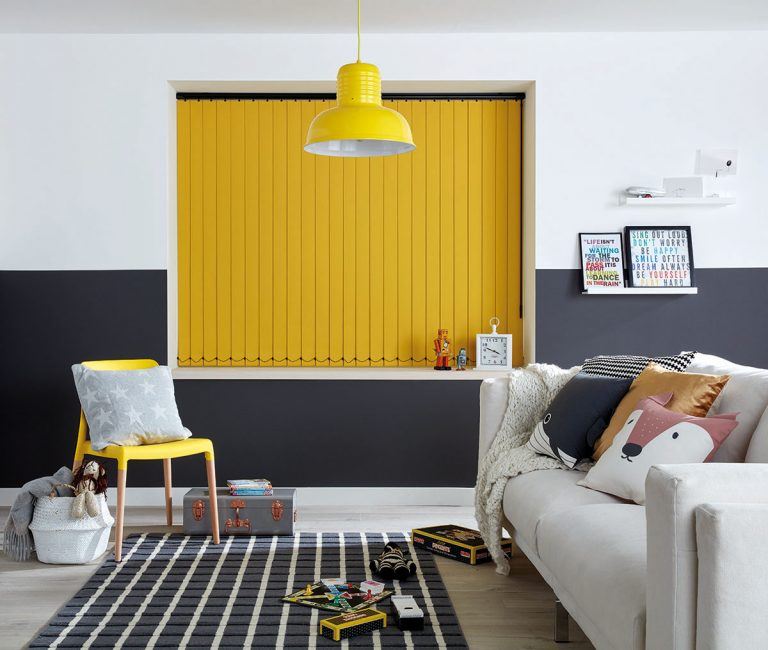 Bright bold yellow and neutral grey – Pantone Colour of the Year 2021