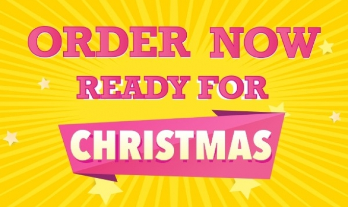 Order now, ready for christmas!