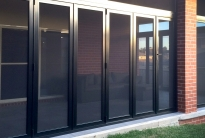 Inspiration: crimsafe bi-fold doors