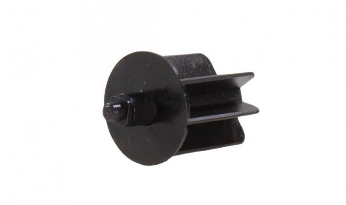 Pin end black small